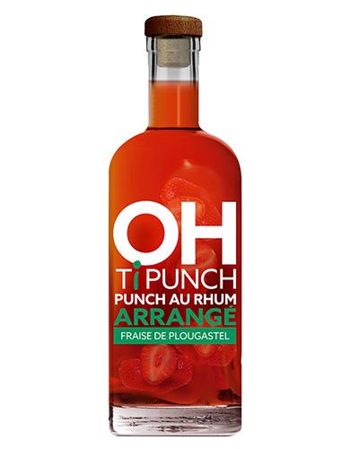 Bouteille Oh! Ti Punch - Fraise de Plougastel