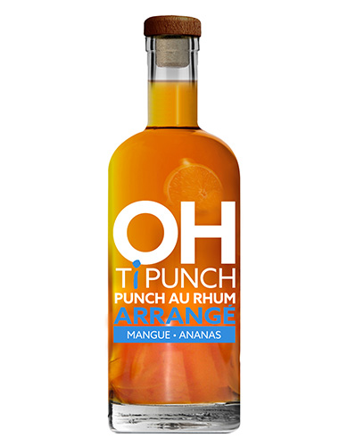 Bouteille Oh! Ti Punch - Mangue - Ananas