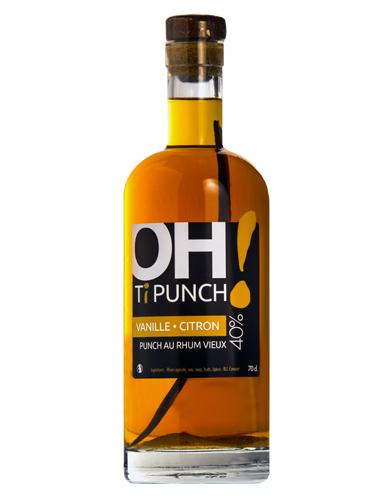 Bouteille Oh! Ti Punch - Vanille Citron - Au rhum vieux 40°)